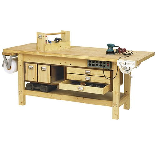 Grizzly Workbenchs Bench Tops Build Your Own Work Bench