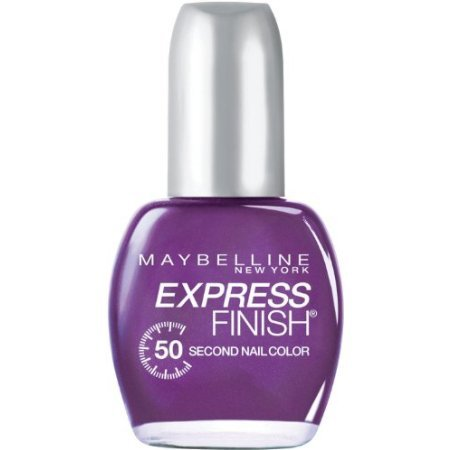 Maybelline Express Finish Nail Pretty in Purple (Maybelline Quick Dry Nail Polish compare prices)