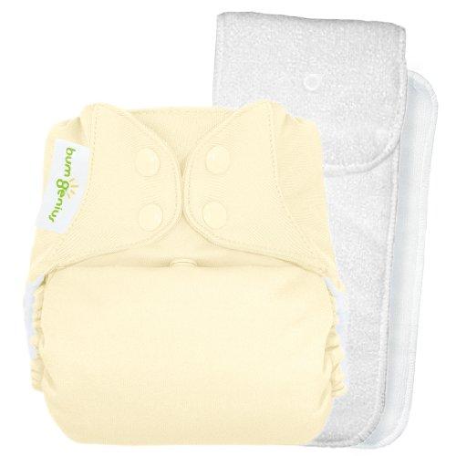 Bumgenius 4.0 Pocket Cloth Diaper - Snap - Noodle - One Size front-560992
