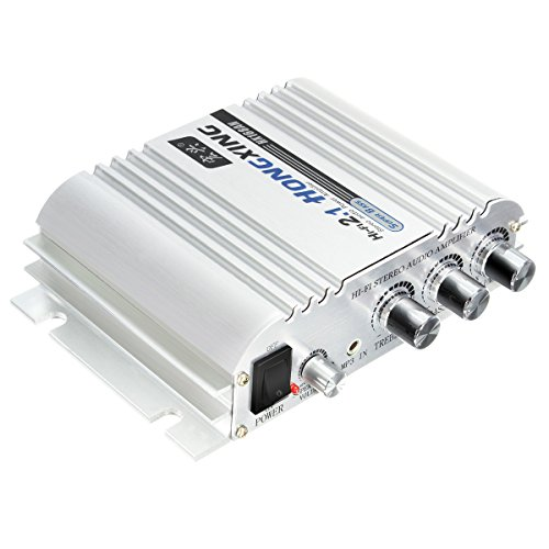 ELEGIANT 300W Super Bass Jeep Wrangler Mini Amplifier