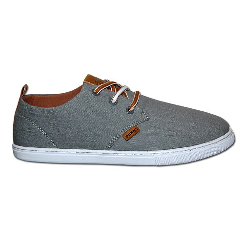 Djinns - LOW LAU LINEN - Sneaker - grey-39