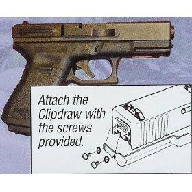Glock Clipdraw Fits Models 20, 21, 21SF, 29, 30, 30SF, 37, 38, 39