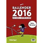 Ballender 2016: Der Fußball-Cartoon-Kalender