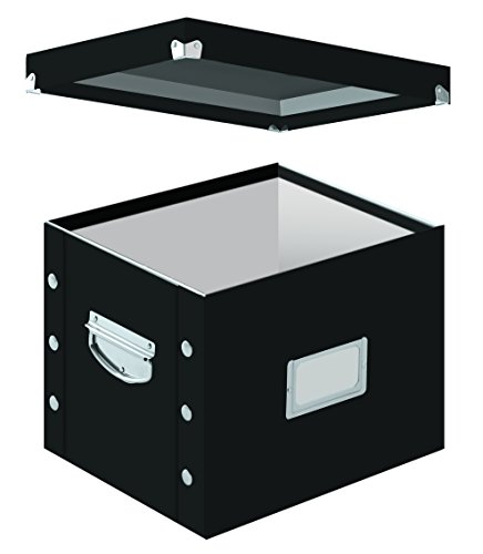 Snap-N-Store Letter-Size File Box, Black (SNS01533) (File Folder Storage Box compare prices)