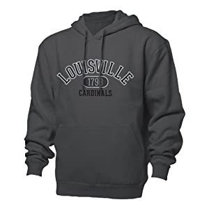NCAA Louisville Cardinals Mens Benchmark Hoodie by Ouray Sportswear