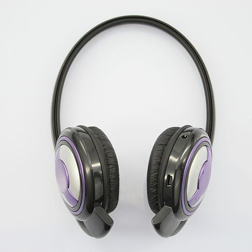 Wireless Handsfree Rechargeable Portable Mini Bluetooth Headset (Purple) F2D Bluetooth Headsets autotags B00H4WMWYY