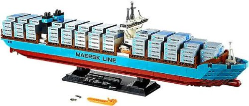 LEGO Creator Set #10241 Maersk Line Triple-E (Cargo Ship Model compare prices)