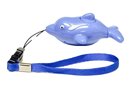Dolphin-Shaped-Personal-Alarm-With-Slapping-Tail-Alarm-Activation-PPS-Flip1-Blue