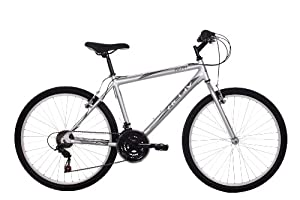 Activ Men's Akan Mountain Bike - (Silver, 18 Inch, 18 Inch, 26 Inch)