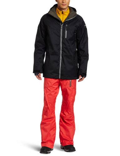 Ride Snowboards Men's Newport Jacket, Black, XX-Large