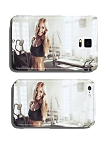 buy Sexy Girl With Headphones Relaxing In The Gym Cell Phone Cover Case Samsung S5