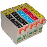 Kompatibel Druckerpatronen! 10 Stck ! Typ Epson C64, C 64, C 66, C66, C 84, C 86, CX3600, CX 3650, CX 6400, CX 6600. Beste Qualitaet!