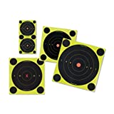"8"" Round Birchwood Casey Shoot - N - C Self - Adhesive Targets"