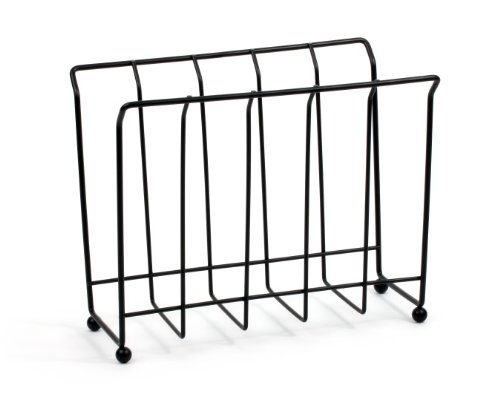 Magazine/Newspaper Rack, Black