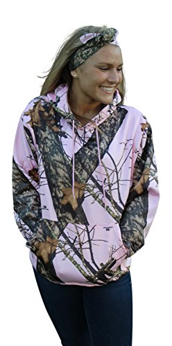 Review for Mossy Oak Pink Hoodie Womens Pink Camo Performance Hooded Sweatshirt