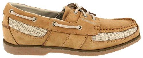 Sebago Men's Crest Vent Boat Shoe,Golden Tan,11 M US