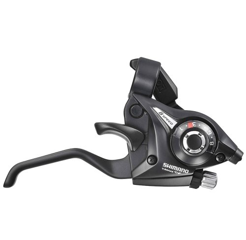 Buy Low Price Shimano ST-EF51(LL)2A Shift/Brake Set (Black, 3×8 Speed) (ESTEF51P8AL)