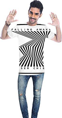 Kaiser Chiefs Falling Awake Unisex T-shirt Men T-Shirt All-Over Full Print Stylish Fashion Fit Custom Apparel By Genuine Fan Merchandise Medium