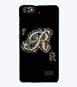 Printvisa Premium Back Cover Decorated R Alphabet Design For Huawei Honor 4C::Huawei G Play Mini