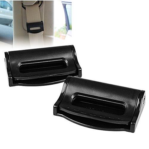 2 Pcs Black Car Suv Truck Safety Adjustable Seat Belt Clip Seatbelt Strap For Honda front-738917