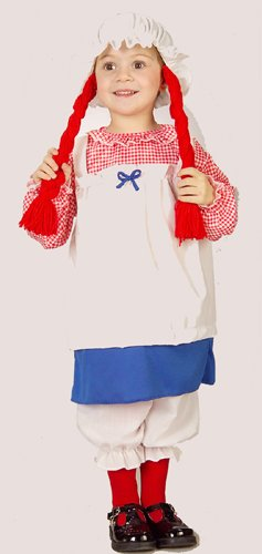 Toddler Rag Doll Costume Size (2-4T)