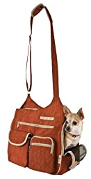 Snoozer Kelsey Cross Body Pet Bag, Rust