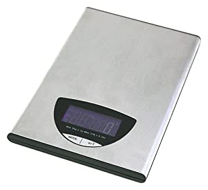 11 lb. Milano Stainless Steel Professional Food Scale by ZUCCOR by ZUCCOR