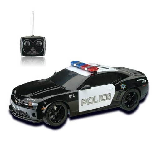 1/18 Chevrolet Camaro Police Car Radio Control Police Car RC with Light Size: Chevy Camaro Model: , Toys & Games for Kids & Child deal 2016