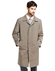 Big & Tall Collezione Classic Italian Padded Mac with Stormwear™