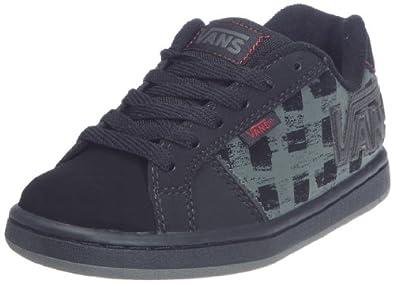 Vans Youth Widow Slim Shoe - Box Plaid Black Black - UK 13 (Jnr)