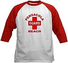CafePress Kids Baseball Jersey - Pensacola Beach Lifeguard Kids Baseball Jersey