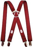 Dr. Who - Tardis Burgundy Suspenders