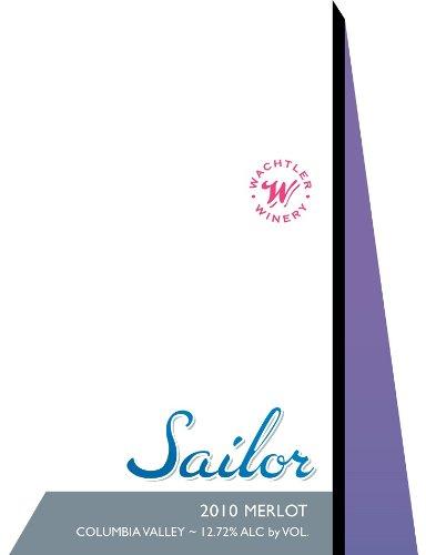 2010 Wachtler Winery Sailor Merlot 750 Ml