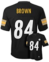 Antonio Brown Pittsburgh Steelers #84 NFL Youth Mid-tier Jersey Black