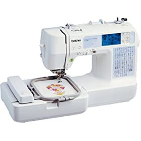 Brother SE350 Computerized Embroidery-and-Sewing Machine
