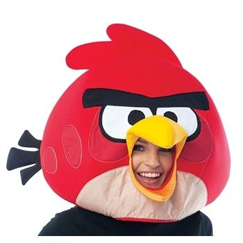 Paper Magic Group Angry Birds Red Bird Mask - 1