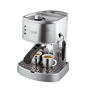 Barista Coffee Maker Job Description : DeLonghi EC330S 15 Bar Pump Espresso Cappuccino Coffee Machine Maker NEW !!! eBay