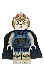 LEGO Kids 9000560 Legends of Chima Laval Figurine Alarm Clock