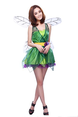 NonEcho Adult Costumes for Women Forest Fairy Cruise Costume