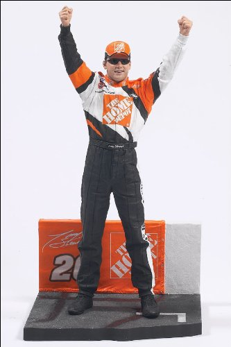 Mcfarlane Nascar Series 1 Action Figure - Tony Stewart #20 by Unknown