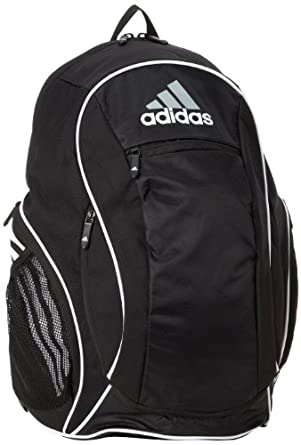 adidas Estadio Team Backpack II, One Size Fits All, Black