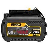 Dewalt DCB606 20/60V MAX FLEXVOLT 6.0 Ah Lithium Ion Battery 1 Pack
