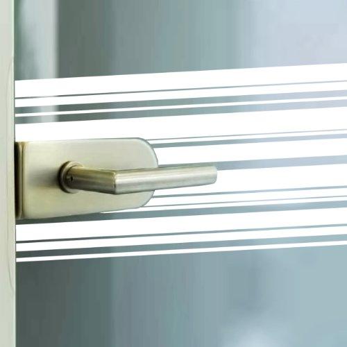 Leichte milchglasfolie 200x75cm pvc frei und selbstklebend - Sichtschutz fenster erdgeschoss ...