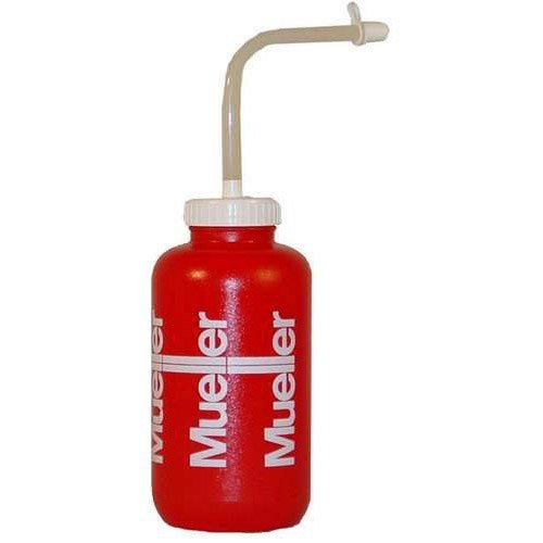 Sports Water Bottle Long Straw: Mueller Sports Squeeze Quart Water Bottle With Straw