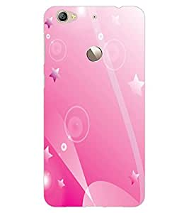 ColourCraft Stars Pattern Design Back Case Cover for LeEco Le 1S