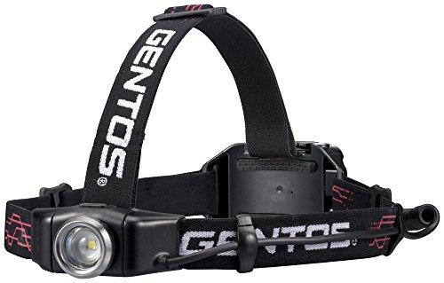 ジェントス ヘッドライト GH-001RG