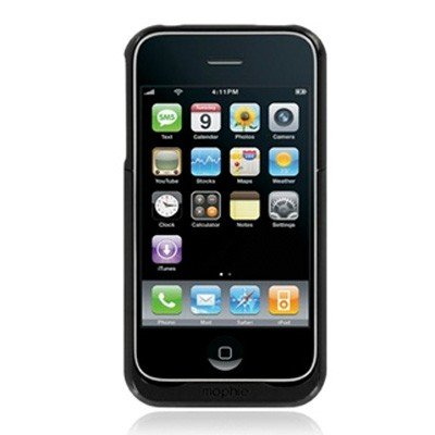 Mophie Juice Pack Air rechargeable battery Case for iPhone 3G & 3G S (Black)