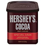Hershey's Special Dark Chocolate Cocoa, 8-Ounce Cans (Pack of 6) ~ Hershey's