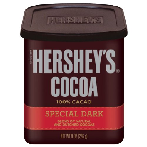 HERSHEY'S SPECIAL DARK Cocoa (8-Ounce Cans, Pack of 6) (Baking Chocolate Powder compare prices)