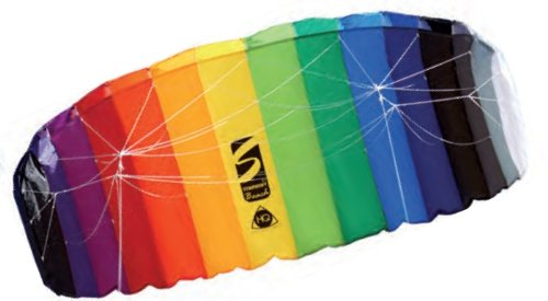 HQ Symphony Beach II 2.1 Rainbow Sport Kite